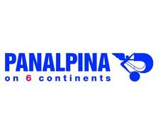 Panalpina on continents